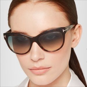 ❤️Brand New TOM FORD Tortoise Sunglasses Authentic